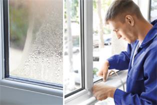 Abdichten von alten Fenstern
